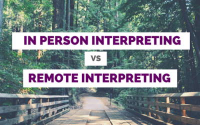 The Advantages of Remote Interpreting: Telephone/Video